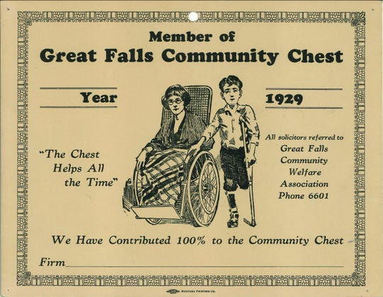 United Way of Cascade County Archival Photo