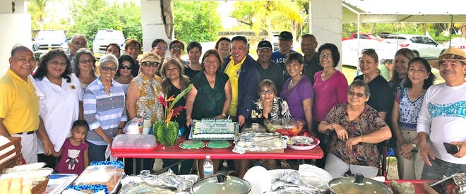 Fun, fellowship, and food were enjoyed by members of the Guam Sunshine Lions Club, the Guam Un Guinaiya Branch Lions Club, family and friends,  on Aug. 24 at the Port Authority Beach in Piti as they gathered to kick-off Lion Year 2019-2020. Lion Angel Sablan's birthday was also included in the celebration.