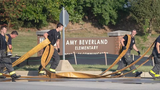 A construction fire closed down Amy Beverland Elementary School for the day, and kids were returned to their parents there, or at Lawrence North HS.