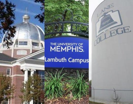 Union University, University of Memphis and Lane College all received top-ten rankings in at least one category of SmartAsset's review of Tennessee college value.