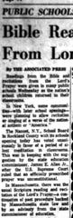 This article is from the Sept. 6, 1962 Lancaster Eagle-Gazette.