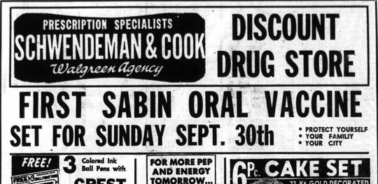 An ad from the Sept.5, 1962 Lancaster Eagle-Gazette.