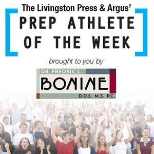 Livingston Daily Athlete of the Week, sponsored by Dr. Fredric L. Bonine