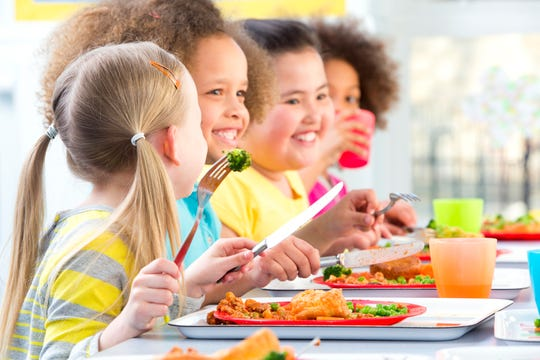 Parents should try to stay informed about what's being served for lunch at their kid's school.
