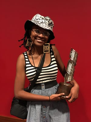 For the second year in a row, White Station High School's Janay Kelley was the winner of the Youth Film Competition at the Indie Memphis Youth Film Fest.