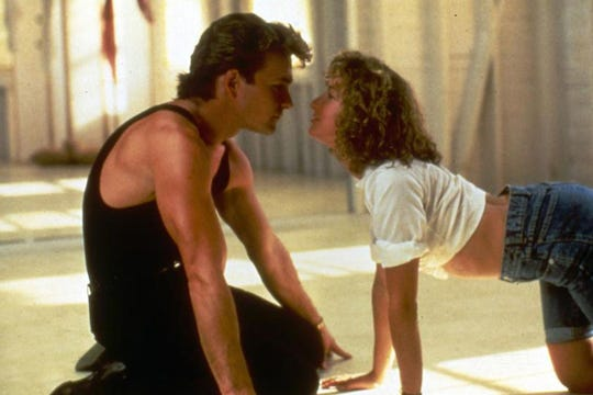 "Nobody puts Baby in a corner — unless that's a corner seat in auditorium 4 at the Studio on the Square, for a Nov. 14 screening of ""Dirty Dancing."""