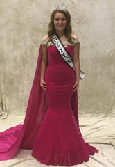 McKenzie Paden, the daughter of Matt and Michele Paden of Mountain Home, recently captured the title of Junior Miss Northwest Arkansas at the Northwest Arkansas District Fair in Harrison. Paden is a senior at Mountain Home High School. She will represent Baxter, Marion, Searcy, Boone, Newton, Carroll and Madison counties at the Arkansas State Fair Pageant on Tuesday, Oct. 15.