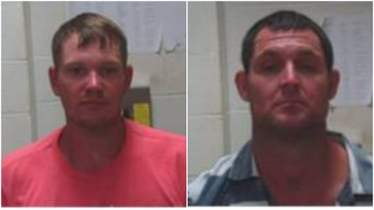 Charles Arthur Brantley, age 30, of Collinstonand Bobby Dean Sutton, age 41, of Bastrop