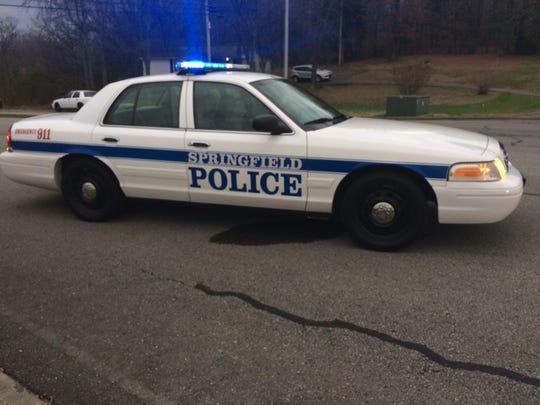 A Springfield police car
