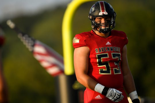 Ravenwood offensive lineman Graham Barton is the No. 21 prospect in the state, according to the 247Sports Composite.