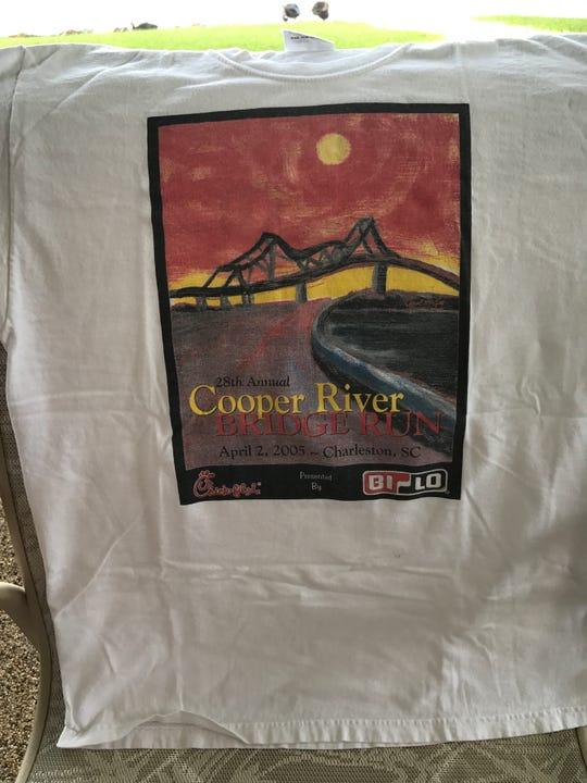 Adrianne Cady's Cooper River Bridge Run shirt