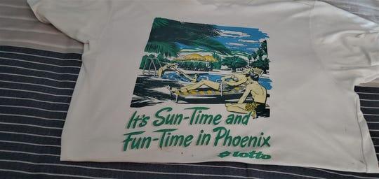 Ellen Gordon's T-shirt