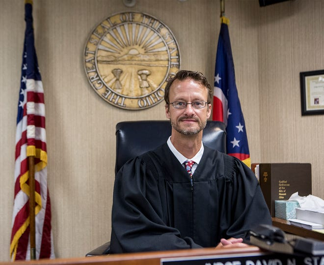 Max Sutton is running for Licking County Municipal Court judge.