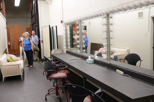 The renovation of the Little Theatre at San Juan College will include a refurbishing of the backstage area where performers prepare themselves.