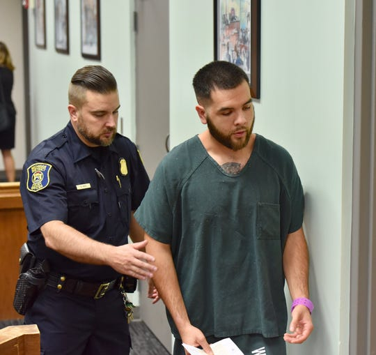 Anthony Kesteloot, 25, of Westland waived a preliminary examination in 18th District Court in Westland on Friday, Sept. 13, 2019.