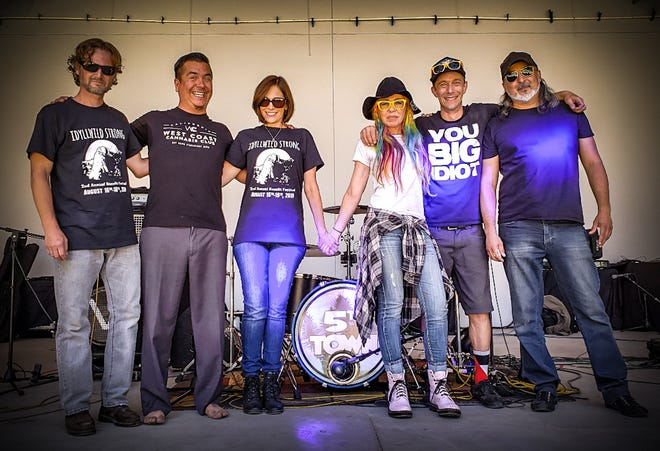 5th Town Band and Blasting Echo will play live at the Rocktoberfest event held at Coachella Valley Brewing Co. on Oct. 5, 2019.