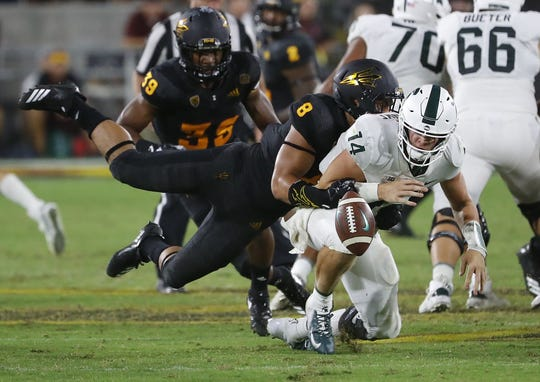 Don't be shocked if the ASU football team shocks Michigan State on Saturday.