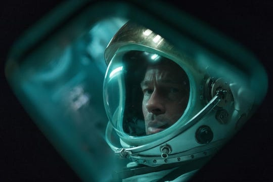 Movie review: Brad Pitt is out of this world in 'Ad Astra'