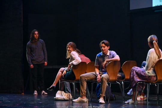 """Actor Nainoa Aguano played shooter Dylan Klebold in """"Columbinus"""" at Greasepaint Youtheatre in Scottsdale."""