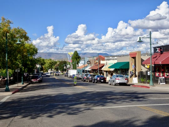 Old Town Cottonwood is known for its shops, restaurants, wine tasting rooms and boutique hotels housed in historic buildings.