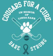The Palmyra field hockey team is hosting its Cougars for a Cure game on Wednesday in memory of beloved former special education teacher Linda Bare, who passed away in June from ovarian cancer.