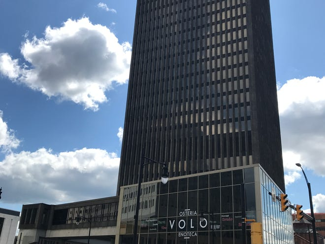 VOLO is in the former Cafe Sol at the foot of Xerox Square.