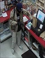Keizer police are searching for a suspect in a Wednesday armed robbery.