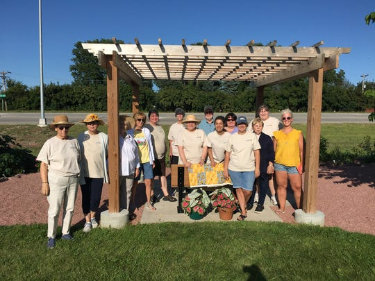 The Dell Rapids Area Garden Club hosted a garden party for the public at the Red Rock Garden on August 18, 2019