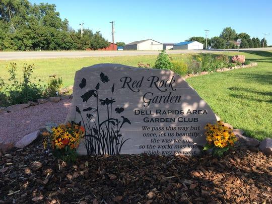Red Rock Garden in Dell Rapids