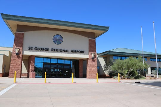 The St. George Regional Airport was closed this summer for construction on the runway and other projects.