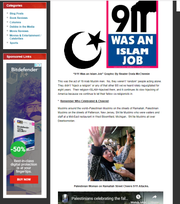 "A photo in Deerlake Middle School history teacher Vince Cartwright's planned Sept. 11 PowerPoint presentation hyperlinks to blogger Debbie Schlussel's website (Screenshot seen here). Schlussel has referred to Muslims as ""animals,"" according to the Southern Poverty Law Center. The center identified Schlussel as an ""ultra-right-wing Muslim-hating blogger"" in a 2011 article."