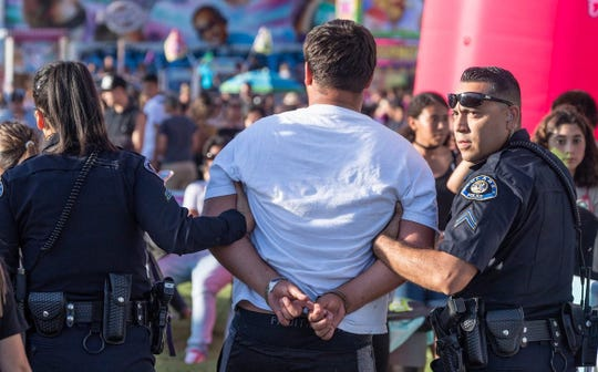More than 60 law enforcement professionals will be at the Tulare County Fair throughout the weekend to ensure the security of our guests.