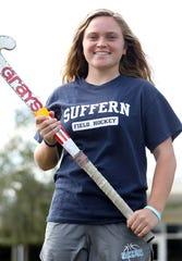 Rockland Scholar-Athlete of the Week Grace Krebs at Suffern High School Sept. 13, 2019. Krebs, a senior, plays field hockey, basketball and lacrosse.
