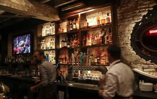 Bartenders are kept busy at Torbert Street Social.