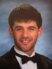 Ryan Diviney's senior high school picture. His family says most people would describe him as the all-American boy.