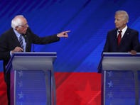 The Democratic race gets hotter with a debate over where, exactly, the party should stand