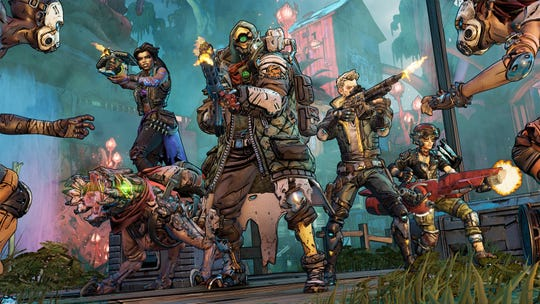 A scene from Borderlands 3.