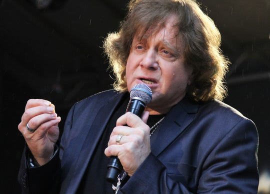 "NEW YORK, NY - JUNE 07:  Eddie Money performs during ""FOX & Friends"" All American Concert Series outside of FOX Studios on June 7, 2013 in New York City.  (Photo by Rob Kim/Getty Images)"