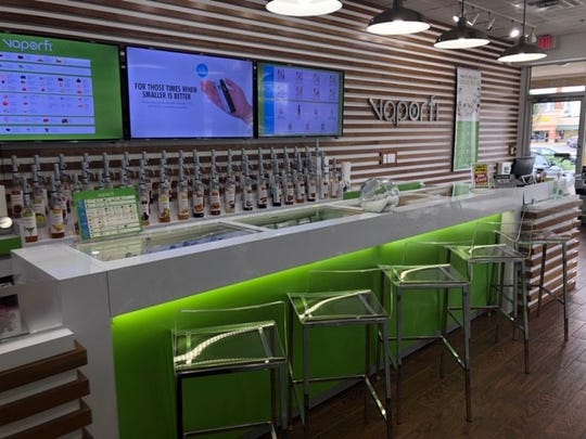 One of Vaporfi's stores, which were started by two women who quit smoking and wanted to make stores appeal to other more middle-aged adult smokers, especially women.
