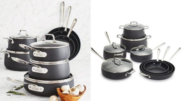 Upgrade your cooking game with a new set of pots and pans from All-Clad.