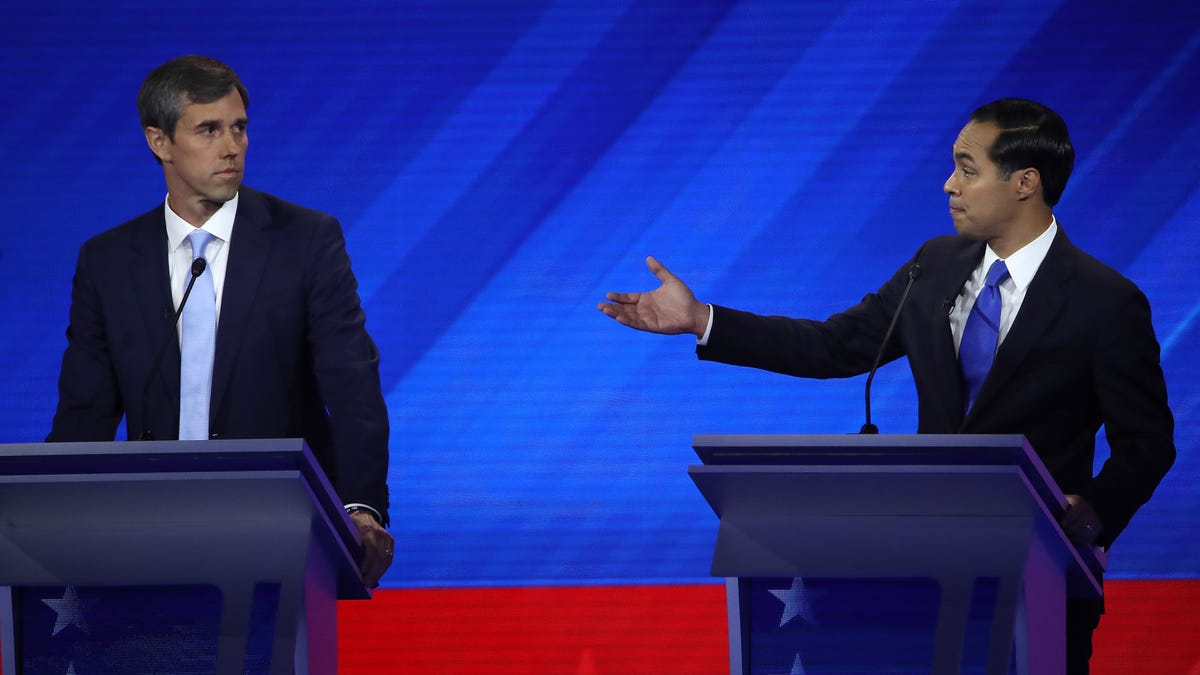 Houston Debate A Do Or Die Opportunity For Texans O Rourke Castro