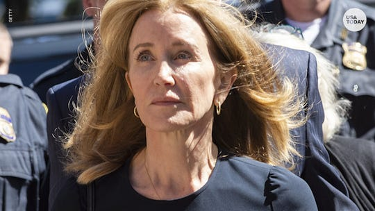 Felicity Huffman sentenced: 2 weeks in prison, $30,000 fine for college admissions scandal