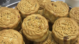 A bakery in Hong Kong is selling mooncakes sporting popular slogans from recent pro-democracy protests.