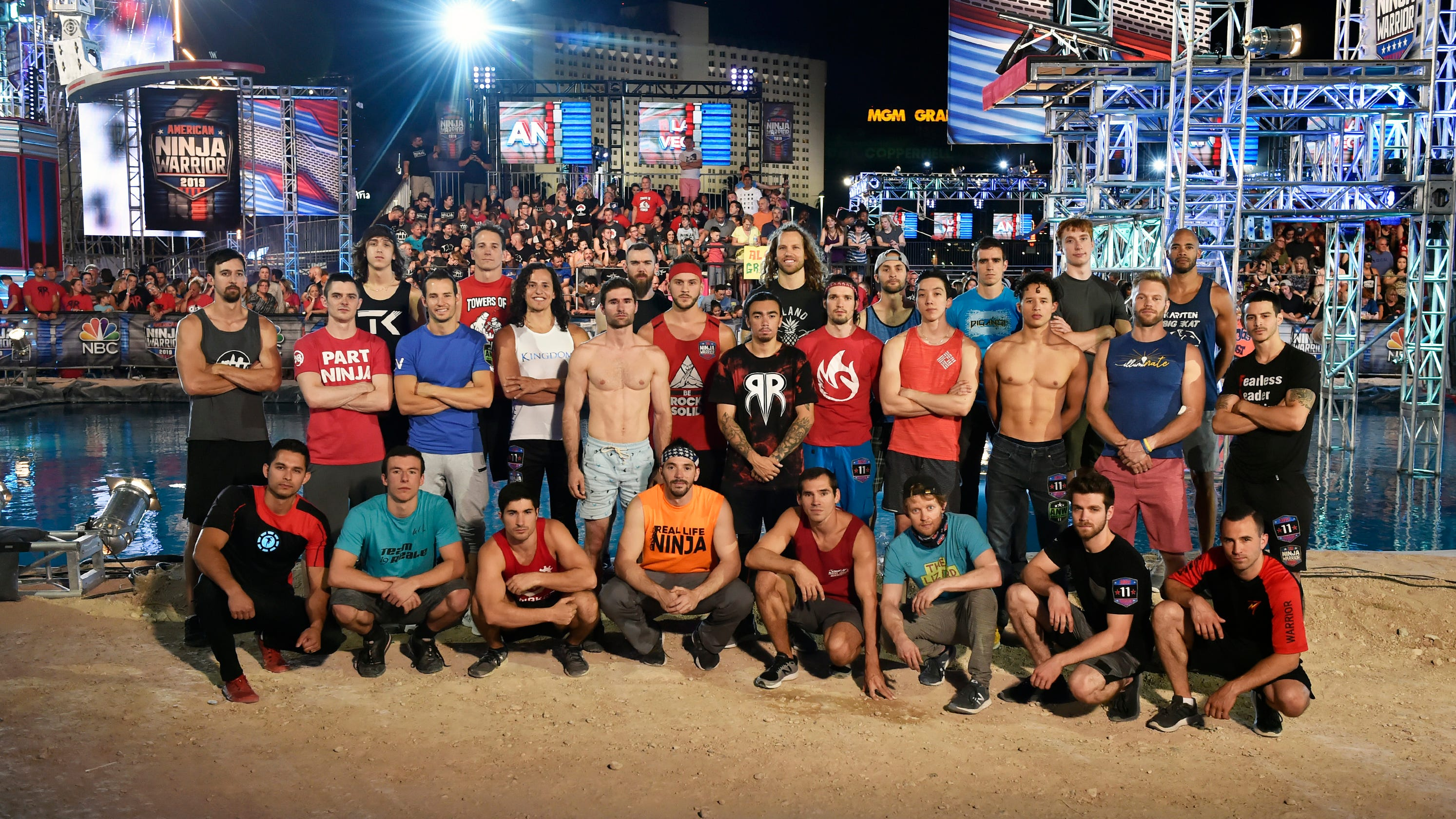 'Ninja Warrior' champ isn't satisfied: 'I want to win two times, back to back'