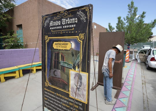 Defenders of the historic Union Plaza neighborhood of downtown El Paso, Texas have begun using art and history to show the city that their homes should not be razed to make way for a sports arena.