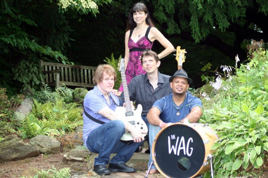 """The musical group, """"The Wag."""""""