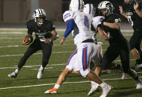 West Henderson kept North Buncombe star Joe Jones out of the end zone until the final minutes of the Falcons' 35-7 victory Friday night.