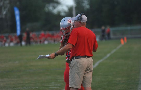 Chad Jensen took over as head football coach this season.
