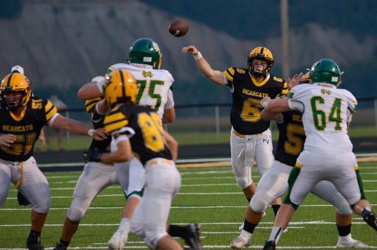 Paint Valley defeated Newark Catholic 33-21 at Paint Valley High School in Bainbridge, Ohio, on Sept. 13, 2019.