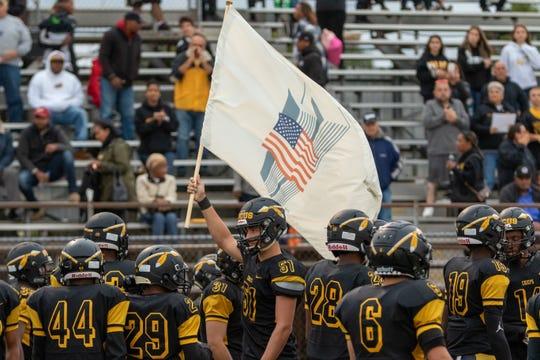 The Sayreville and Piscataway high school football teams met Friday night at Ciardi Field.